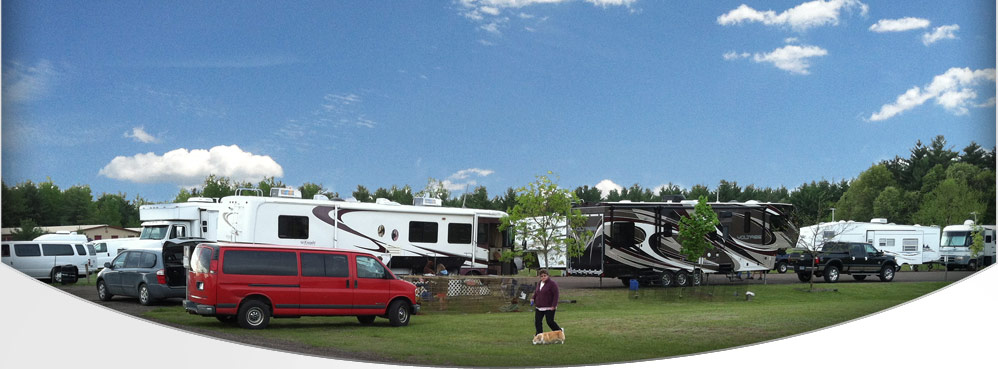 Stay on one of our 45 campsites.