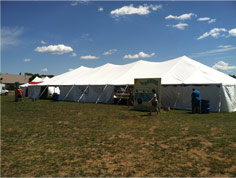 Rent a tent for your next outdoor event at the Eau Claire Expo Center.