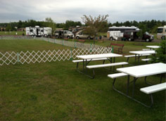 Picnic Area at The Eau Claire Expo Center