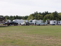 Enjoy camping at the Eau Claire Expo Center